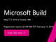 Microsoftの「Build 2018」は5月7日から(Google I/Oは8日から)