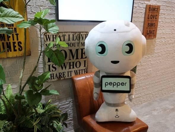 特大Pepperぬいぐるみ