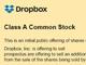 Dropbox、赤字上場で5億ドル調達へ ティッカーは「DBX」