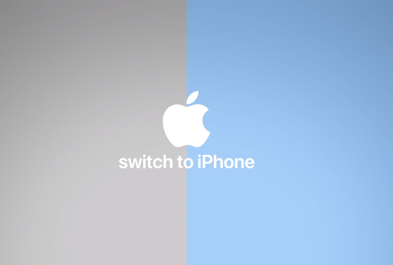 switching from iphone to galaxy apple galaxy s9 発表翌日に4本の switch to iphone 動画 itmedia news 18050