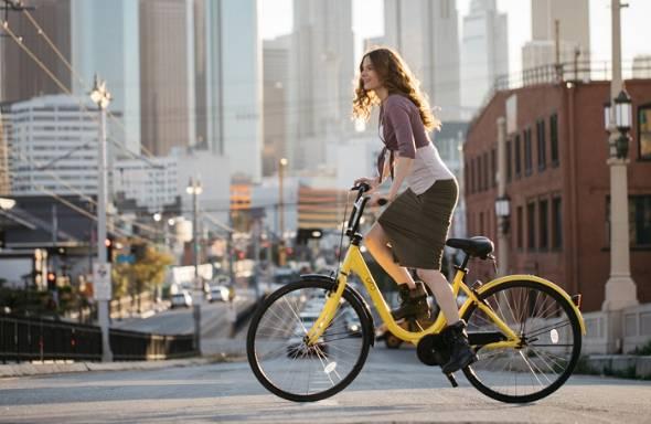 自転車シェアリングサービス「ofo」