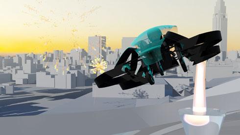 「空飛ぶクルマ」開発団体、パナソニックが支援 2020年に世界披露へ Itmedia News