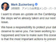 FacebookのザッカーバーグCEO、5000万人の個人情報流出について説明(謝罪はなし)
