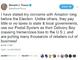 トランプ大統領、Amazonを(また)ツイートで批判
