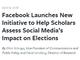 Facebook、選挙介入対策で外部研究者らに匿名化したユーザーデータ提供へ