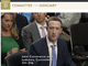 FacebookのザッカーバーグCEO、初公聴会を無難に乗り切る