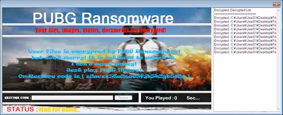 [ITmedia News] ファイルを暗号化し、「復元したければPUBGを1時間プレイしろ」と要求するランサムウェア、4月に発見