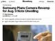 「Galaxy Note9」(仮)は8月9日にBixbyスピーカーとともに発表か──Bloomgerg報道