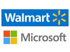 WalmartとMicrosoft、Amazon.com対抗で戦略的提携