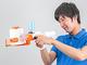 あの紙を濡らして飛ばす「トイレットペーパーブラスター」発売 1ロールで約650発 シングル・ダブル両対応