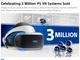 「PlayStation VR」の累計販売台数が300万台突破