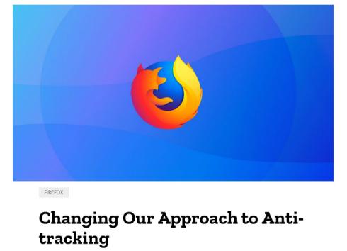 Mozilla、「Firefox 63」から重...