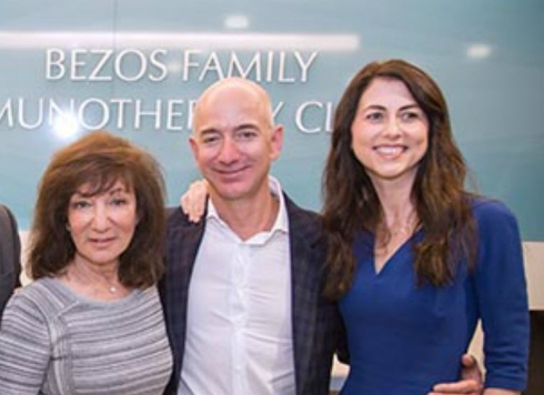 ジェフ・ベゾス氏、20億ドルの慈善ファンド立ち上げ 教育とホームレス ...