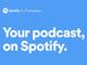 Spotify、ポッドキャスト配信のβテスト開始