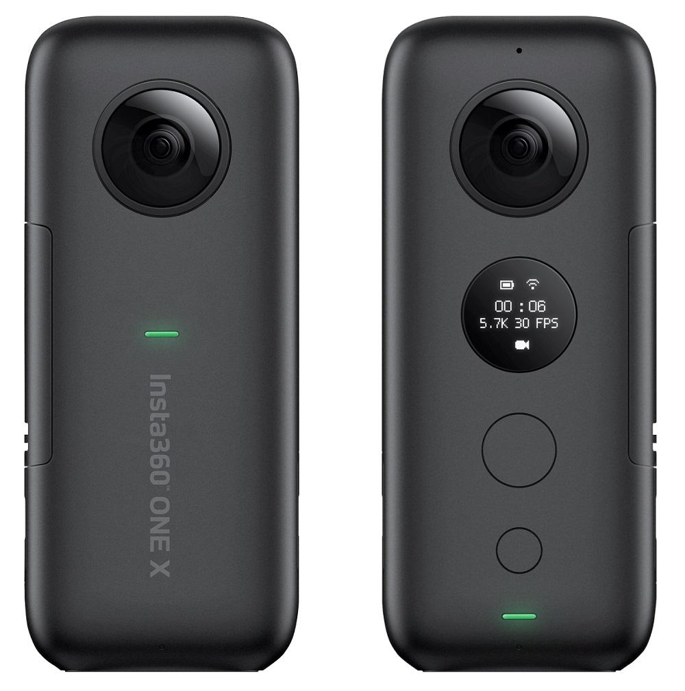 投げられる全天球カメラ「Insta360 ONE X」発表 新デザイン、5.7Kの動画撮影、Wi-Fi対応、交換式バッテリーなど