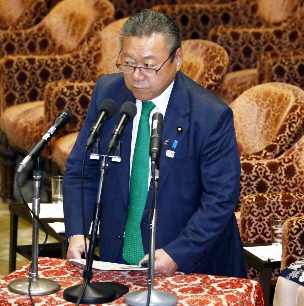 日本のサイバーセキュリティ担当大臣はパソコンを打たない