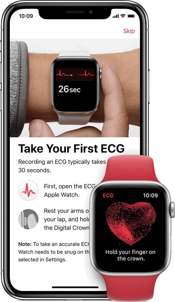apple watch 5 ecg 破解