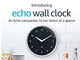 Alexaのタイマーの残り時間をLEDで表示する掛け時計「Echo Wall Clock」、米国で発売