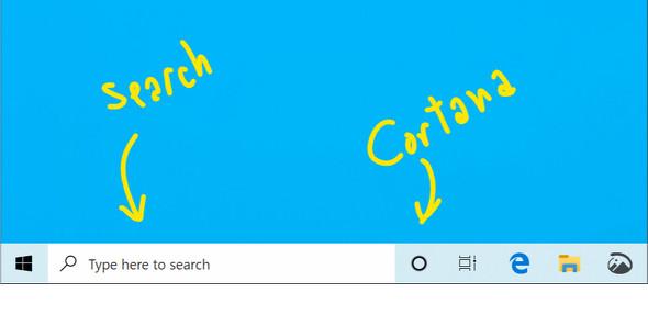 【IT】「Windows 10」、次期アップデートでタスクバーのCortanaと検索を分離