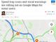 「Googleマップ」のナビ、一部地域で「制限速度」と「ネズミ捕り」アイコン表示開始