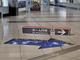 床の絵が立体的に見える 羽田空港に「だまし絵」案内表示 京急電鉄が導入