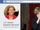 Facebook、ウォーレン議員の政治広告を削除 ロゴ無断使用のポリシー違反で