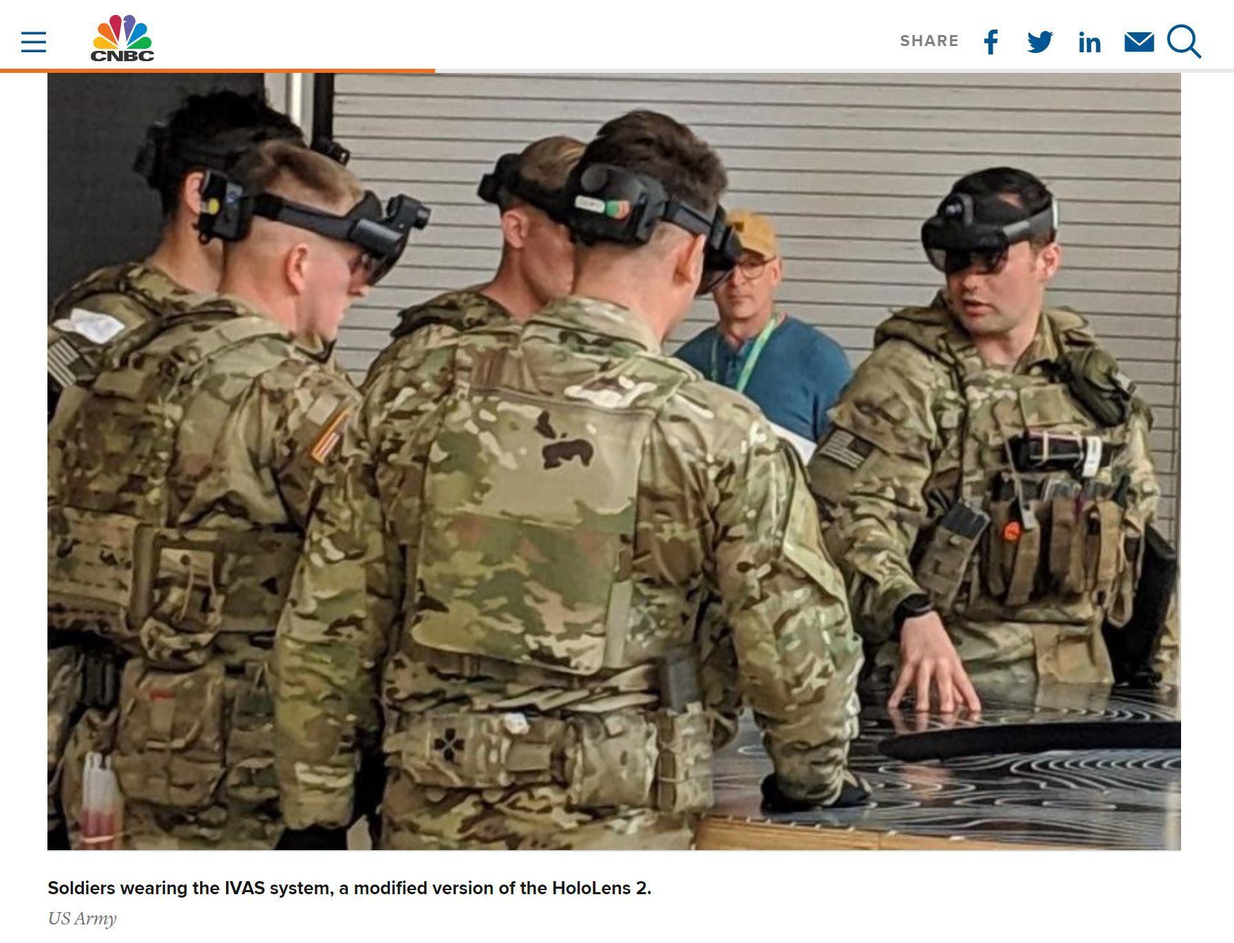 米陸軍、「HoloLens 2」ベースの軍事ヘッドセット「IVAS」プロトタイプを披露