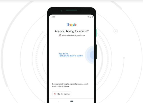 7aa639bfa7 Android 7以上のスマホ、Googleアカウントの二段階認証キーに Bluetooth ...