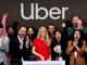 Uber上場、初日終値は7.6%安と低調