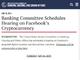 Facebookの暗号通貨「Libra」のプライバシーについての上院公聴会、7月16日に開催
