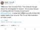 """トランプ大統領、ピーター・ティール氏指摘の""""Googleの裏切り""""を調査するとツイート"""