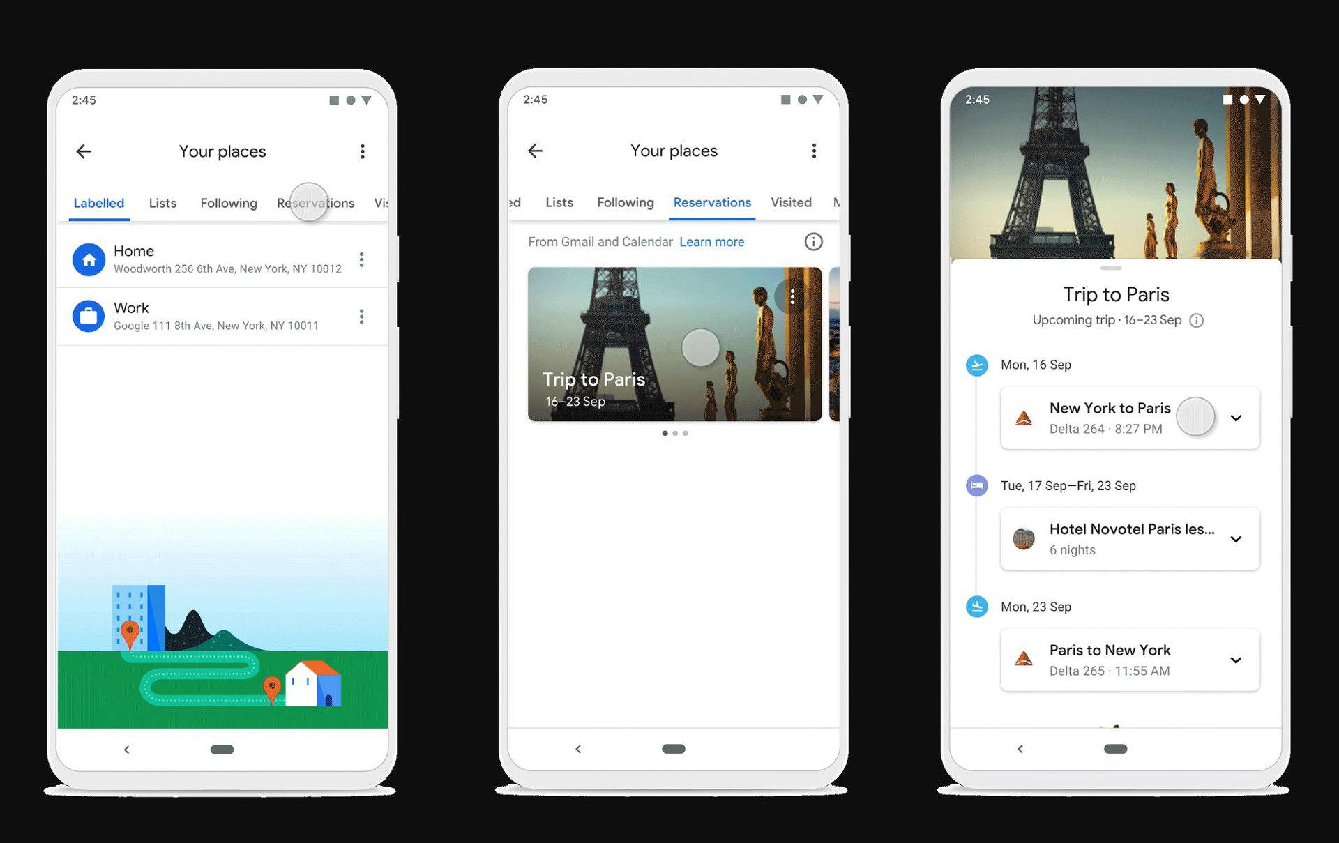 Googleマップに旅行に便利な3つの新機能