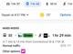 Googleマップの経路検索で公共交通機関とシェアサイクル、配車サービス混合手段を表示
