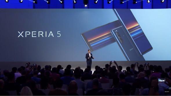 【スマホ】ソニー、「Xperia 5」発表 コンパクトで軽いフラグシップモデル 今秋以降発売