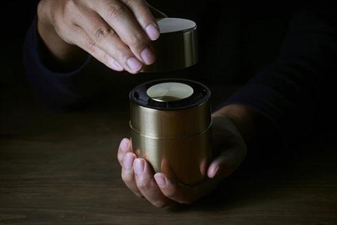 【製品】パナソニックが「茶筒スピーカー」発売 価格は30万円
