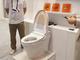 """""""AIトイレ""""で大便の状態を自動判定、LIXILが開発 「教師データは社員の便」 介護施設などの需要見込む"""