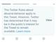 """Twitter、""""世界のリーダー""""の問題ツイートの扱いについて説明"""