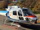 「ヘリコプター基地局」で空から通信エリア構築、被災者のスマホ位置も推定 KDDIが実験