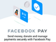 「Facebook Pay」米国で提供開始 将来的にはInstagramでも