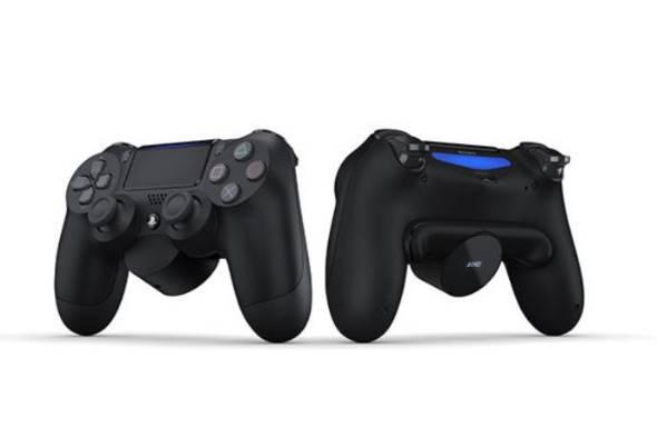 PS4コントローラーに外付けできる\u201c追加ボタン\u201d ソニーが数量限定
