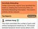 Twitter、誤解を招くツイートにオレンジのラベルを付けるテストを実施中