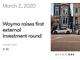 自動運転企業Waymo、初の外部資金調達で22億5000万ドル増資