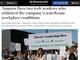 "Amazon.com、""物言う""従業員2人を解雇──Washington Post報道"