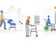 "「Googleマップ」に車椅子対応アイコン、「音声文字変換」に""名前で振動""機能"