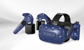 視線追跡ができるフラグシップモデルの「VIVE Pro Eye」