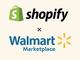 WalmartがShopifyとの提携でAmazonマーケットプレイスに対抗