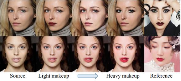 他人の化粧を自分に転写できるバーチャルメイク技術「PSGAN」 動画にも ...