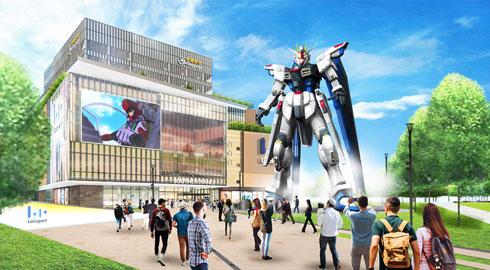 全高18mの実物大フリーダムガンダム、上海に上陸へ - ITmedia NEWS