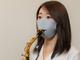 島村楽器、着けたままリコーダーやサックスを吹けるマスク 演奏時以外も着用可能