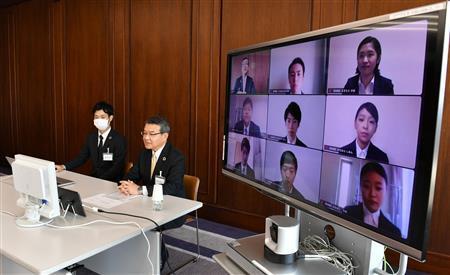 内定式にオンライン化の波 本社移転のパソナは淡路島で開催 - ITmedia NEWS